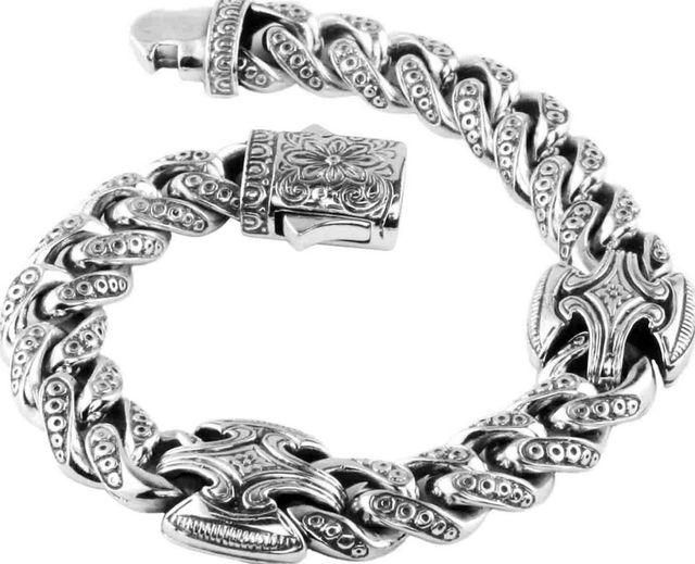 Men's Sterling Silver Bracelet