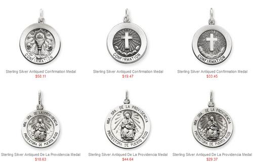 Inexpensive Patron Saint Medals