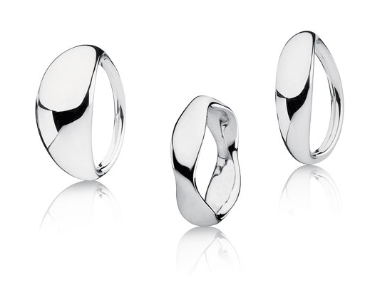 Pandora Rings - Liquid Silver Collection