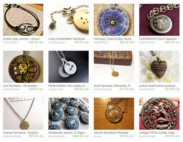 Zodiac Mythology Jewelry